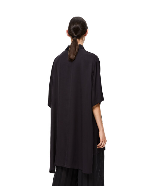 LOEWE Oversize Short Sleeve Shirt Negro front