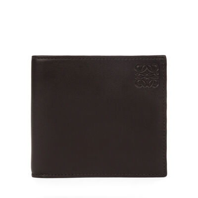 LOEWE Bifold Wallet 黑色/军绿色 front