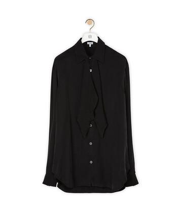 LOEWE Tie Shirt 黑色 front