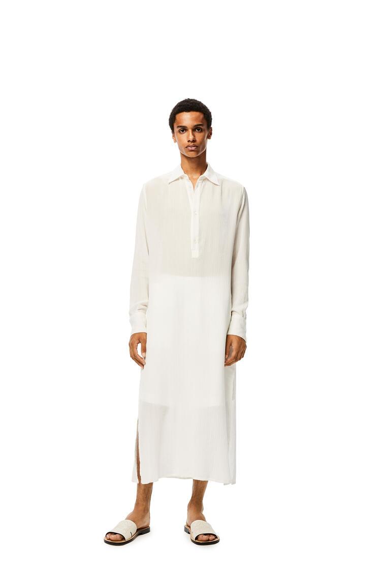 LOEWE Long tunic in cotton White pdp_rd