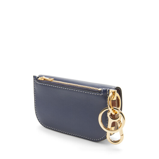 LOEWE Gate Mini Wallet Marine/Light Oat front