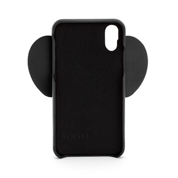 LOEWE Elephant Cover For Iphone Xs Max Black front