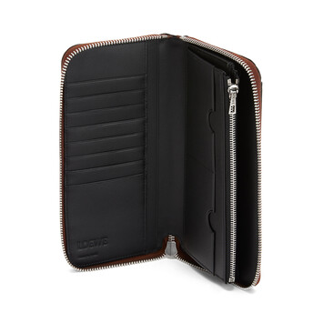 LOEWE Puzzle Open Wallet Coñac front