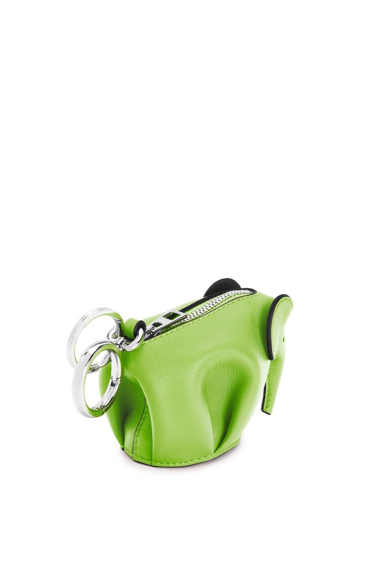 LOEWE Elephant charm in classic calfskin Apple Green pdp_rd