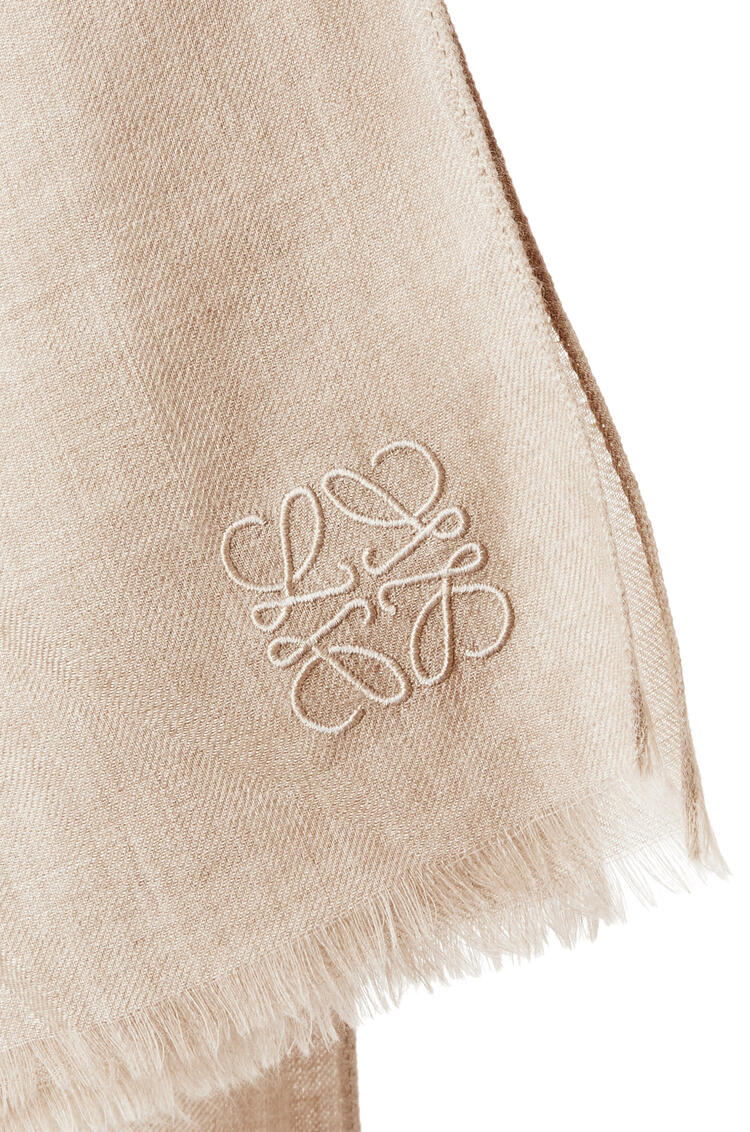 LOEWE Scarf in cashmere Beige pdp_rd