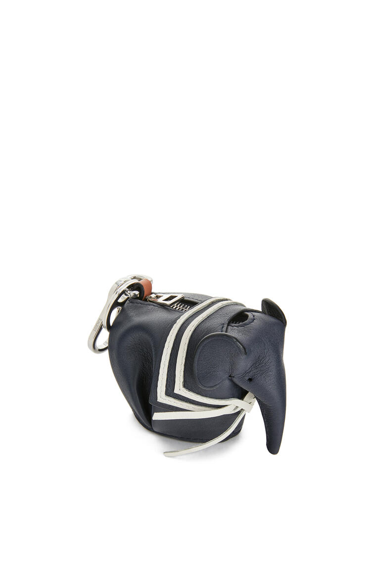 LOEWE Elephant Sailor Charm In Classic Calfskin Deep Blue pdp_rd