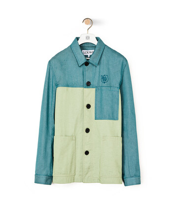 LOEWE Jacket Verde front