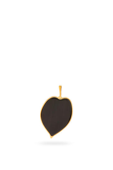 LOEWE Leaf earrings Black pdp_rd