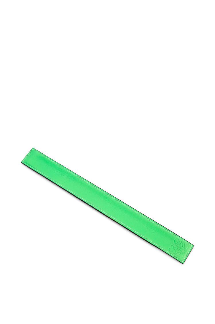 LOEWE スラップ ブレスレット スモール(クラシック カーフスキン) Neon Green pdp_rd