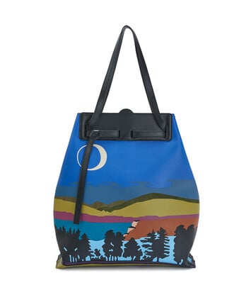 LOEWE Lazo Tote Paisaje Multicolor front