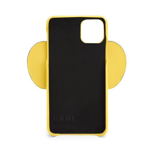 LOEWE Elephant Cover For Iphone 11 Pro Max Yellow front