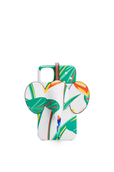 LOEWE 印花经典小牛皮 iPhone 11 小象手机壳 白色 pdp_rd