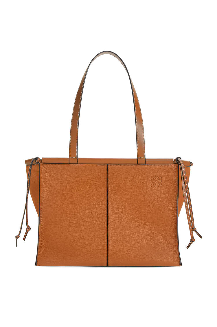 LOEWE 柔软粒面小牛皮 Cushion Tote 手袋 Light Caramel pdp_rd