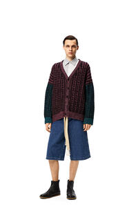 LOEWE Shorts en denim con cordón Azul pdp_rd