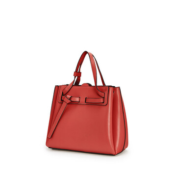 LOEWE Bolso Lazo Mini Rouge front