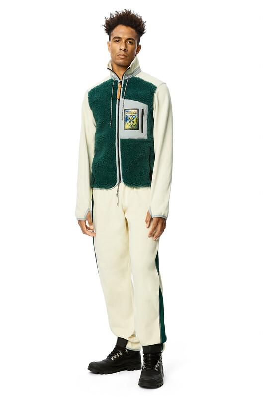 LOEWE Eln Fleece Trousers Calico front