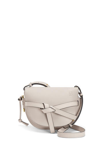 LOEWE Small Gate Bag In Soft Grained Calfskin Light Oat pdp_rd