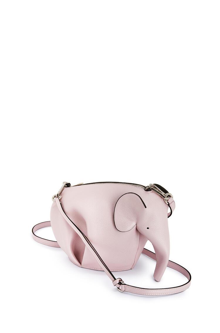 LOEWE Mini Elephant Bag In Pearlized Calfskin Icy Pink pdp_rd