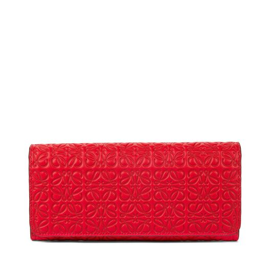 LOEWE Continental Wallet Primary Red all