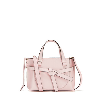 LOEWE Gate Top Handle Mini Icy Pink front