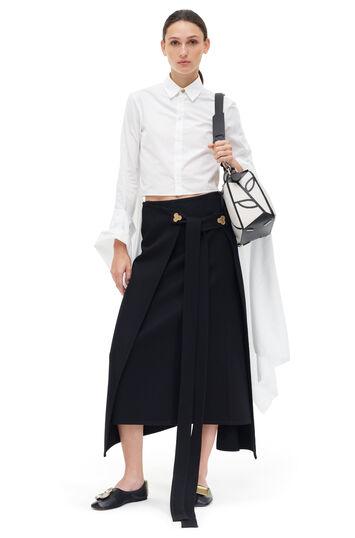 LOEWE Wrap Skirt Black front