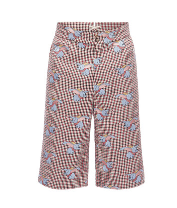 LOEWE Shorts Dumbo Multicolor front