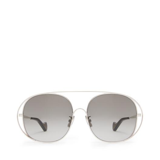 LOEWE Gafas De Sol Metal Redondas Antracita front