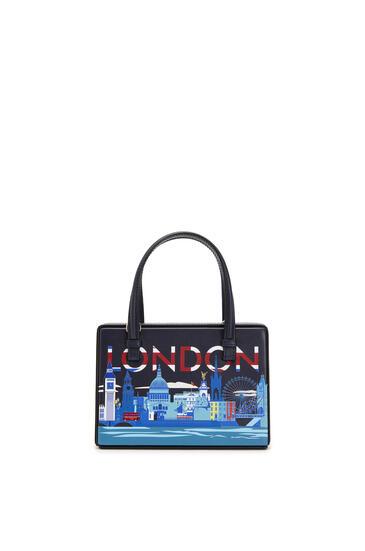 LOEWE 小号柔软天然牛皮革 London Postal 手袋 Midnight Blue pdp_rd