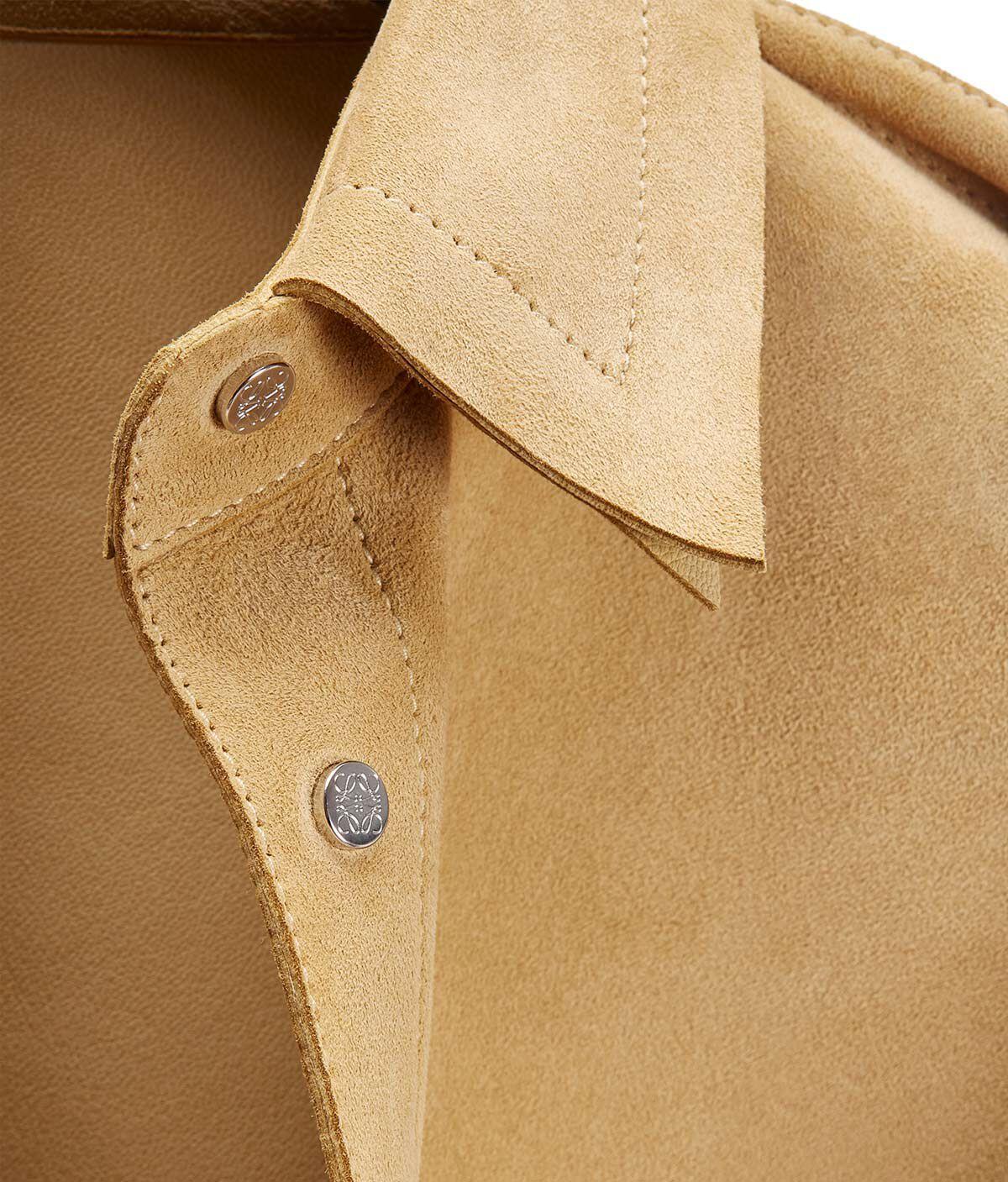 LOEWE Oversize Shirt Gold front