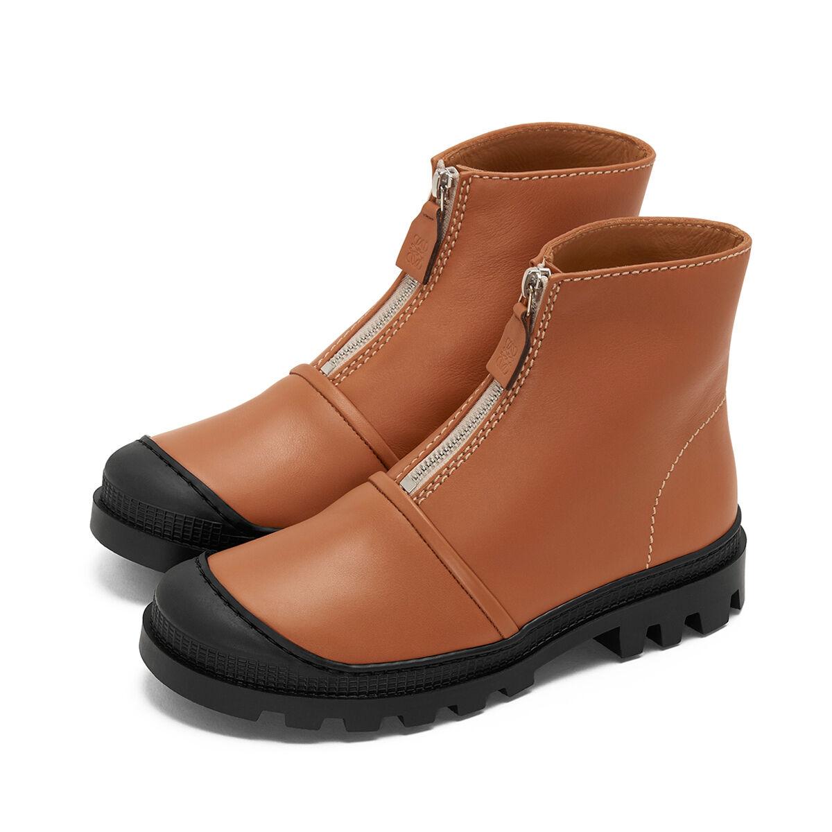 LOEWE Zip Boot 棕色 all
