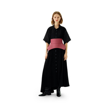 LOEWE Obi Belt Pink front