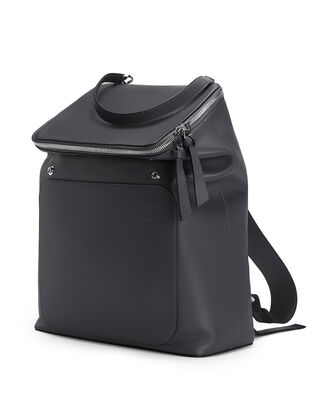 LOEWE Goya Backpack Deep Blue front