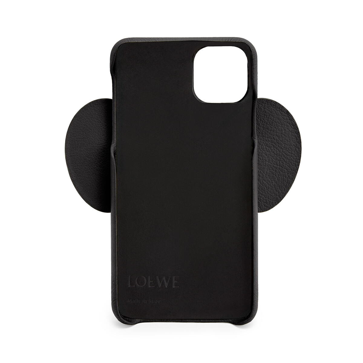LOEWE Elephant Cover For Iphone 11 Pro Max ブラック front