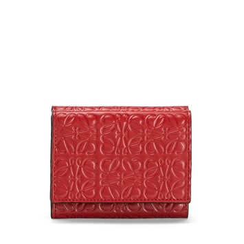 LOEWE Trifold Wallet Pomodoro front