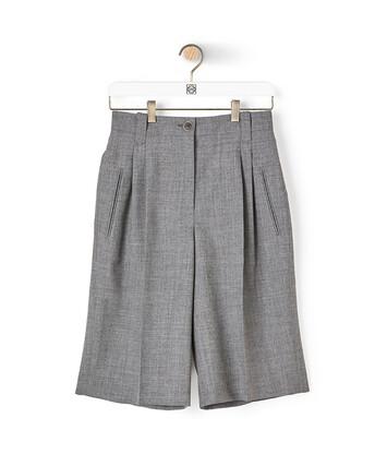 LOEWE Shorts Grey front