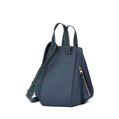 LOEWE Hammock Small Bag Indigo front