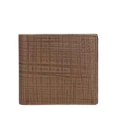 LOEWE Bifold Wallet Dark Taupe front