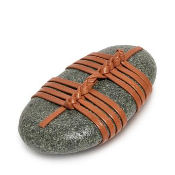 LOEWE Kagero Knot Stone Tan front