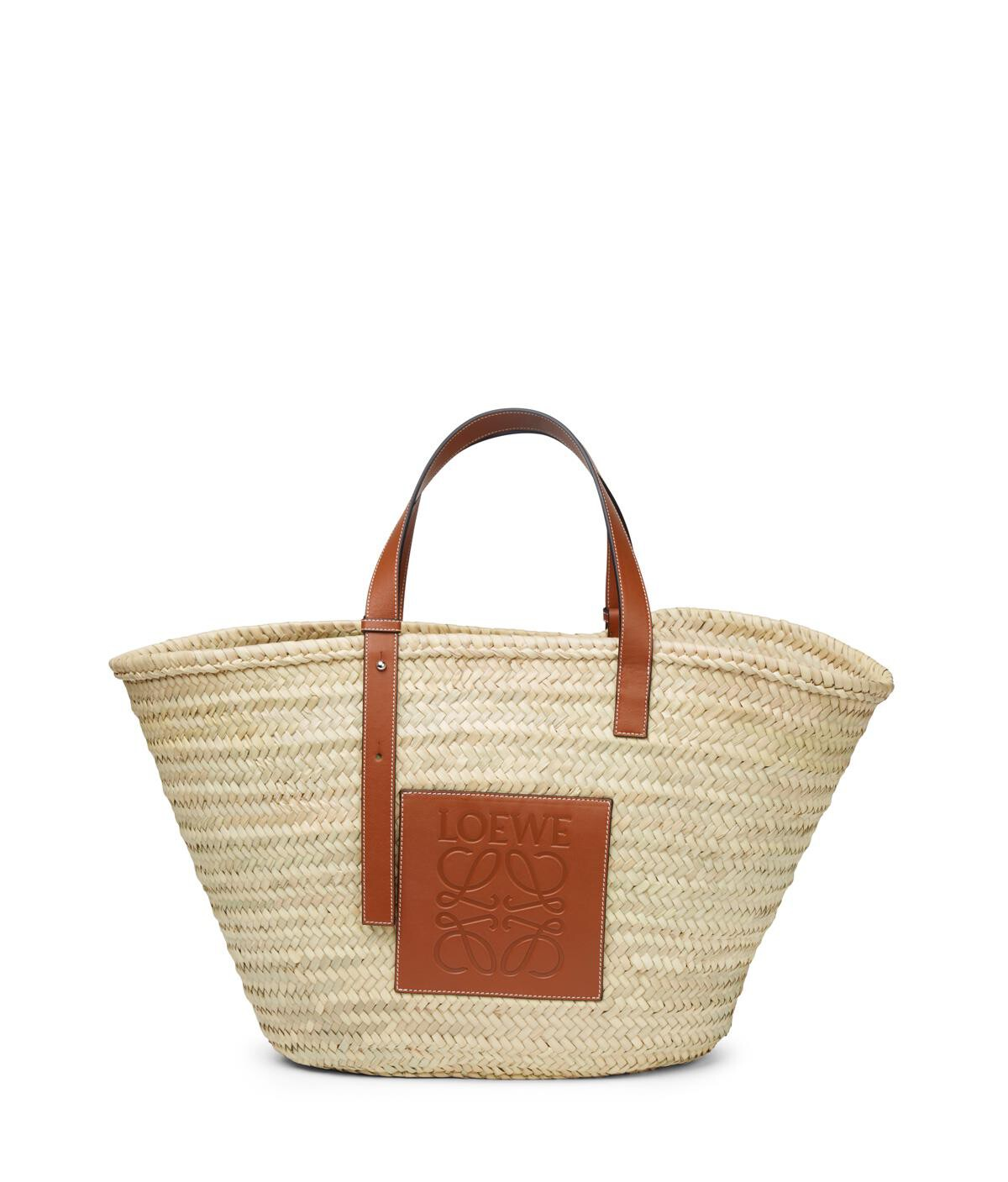 LOEWE Basket Large Bag Natural/Tan front