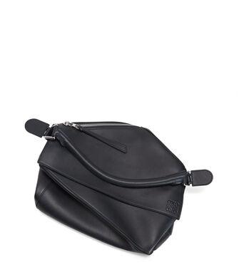 LOEWE Puzzle Large Bag Deep Blue front