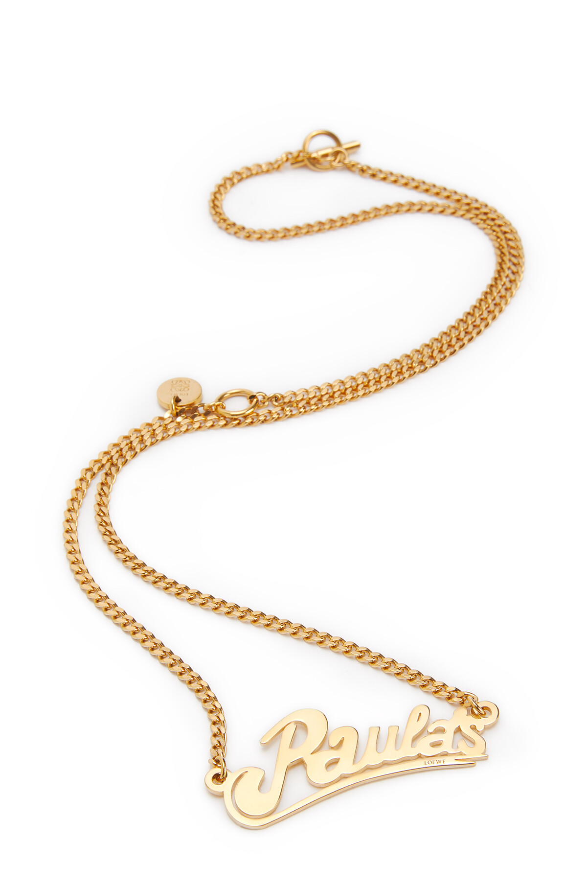 LOEWE Paula'S Necklace Gold front