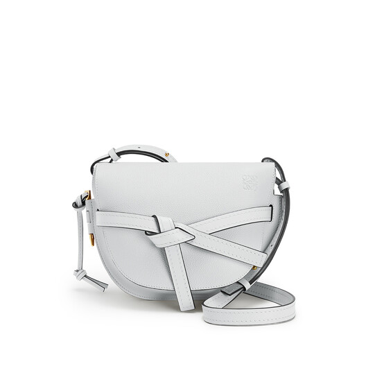 LOEWE Bolso Gate Pequeño Caolín front