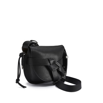 LOEWE Gate Western Small Bag Black front