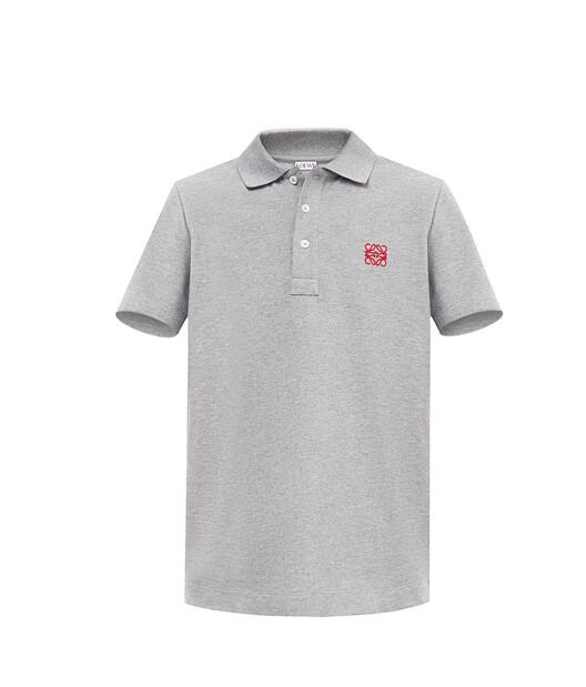 LOEWE Anagram Polo Grey front
