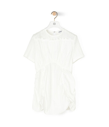 LOEWE Gathered Top Blanco front