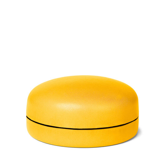 LOEWE Box Medium Yellow Yolk front