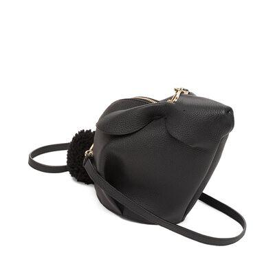 LOEWE Bunny Mini Bag Black front