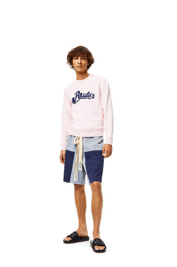 LOEWE Sweatshirt in cotton Pink pdp_rd