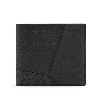 LOEWE Puzzle Bifold Wallet 黑色 front