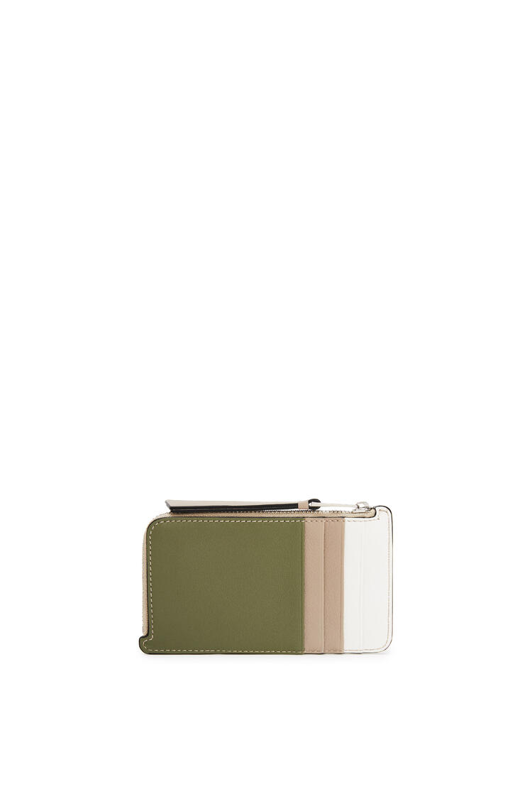 LOEWE 经典小牛皮 Puzzle 硬币卡包 Sand/Avocado Green pdp_rd